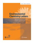 Couverture Springer Env Chem Lett